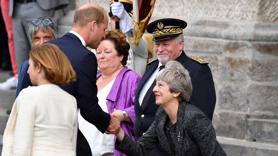 Prince William Theresa May