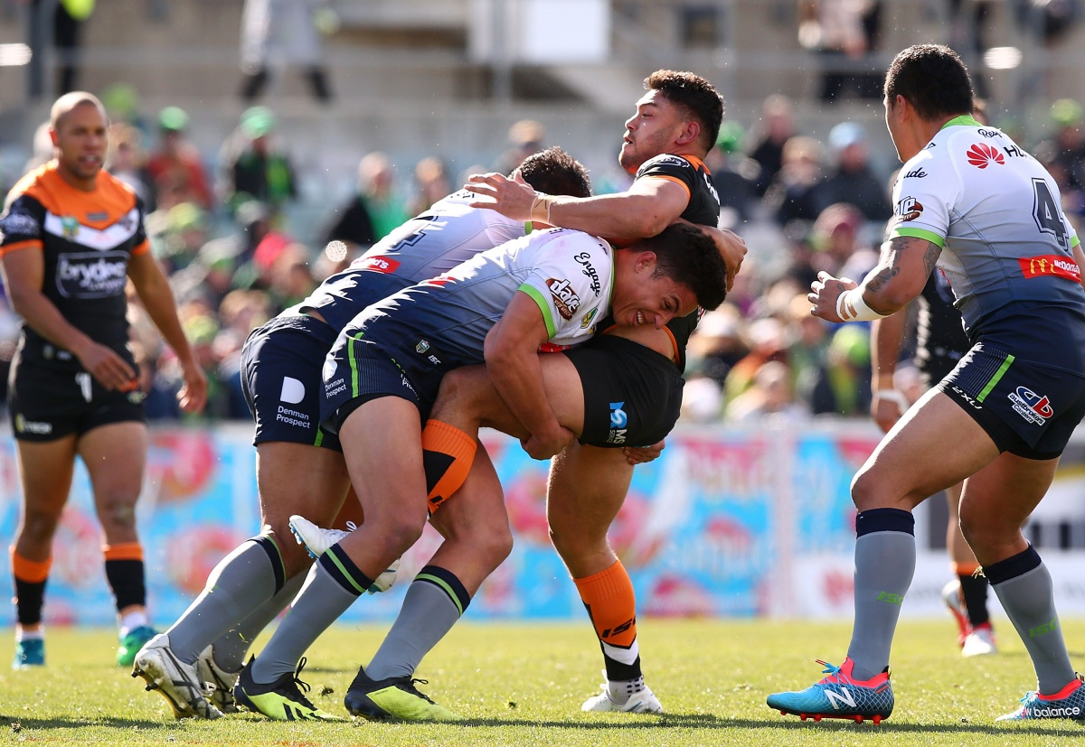 Wests Tigers Canberra