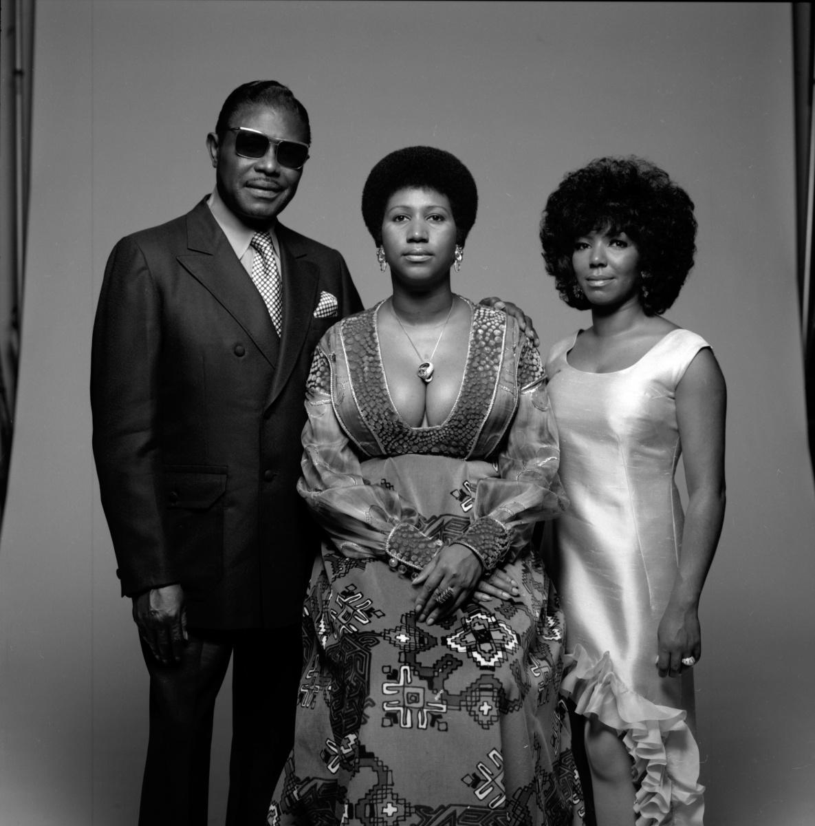 Aretha Franklin father sister