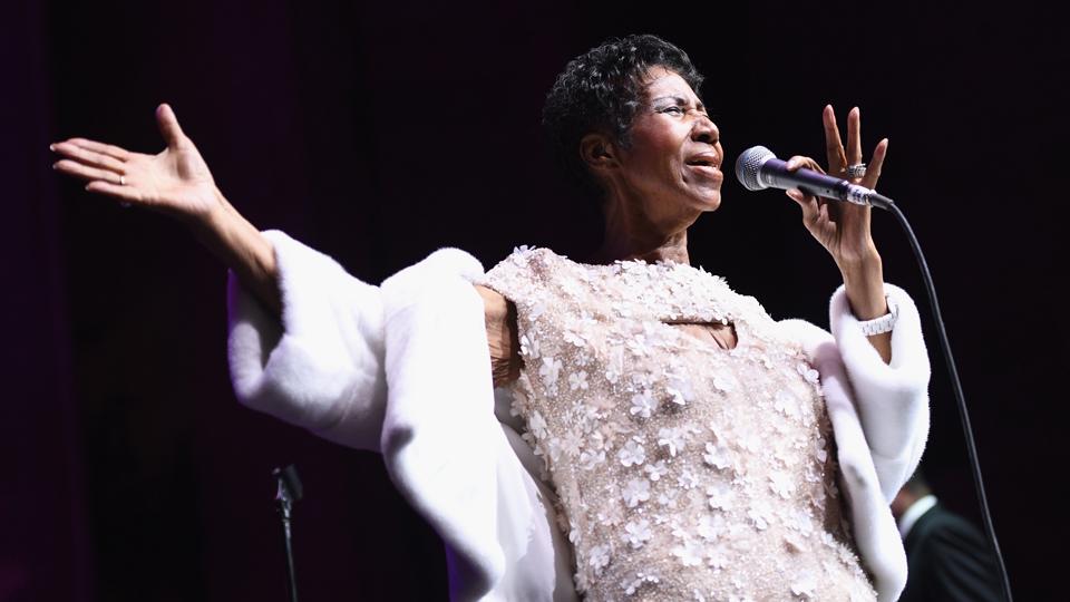 Aretha Franklin last performance