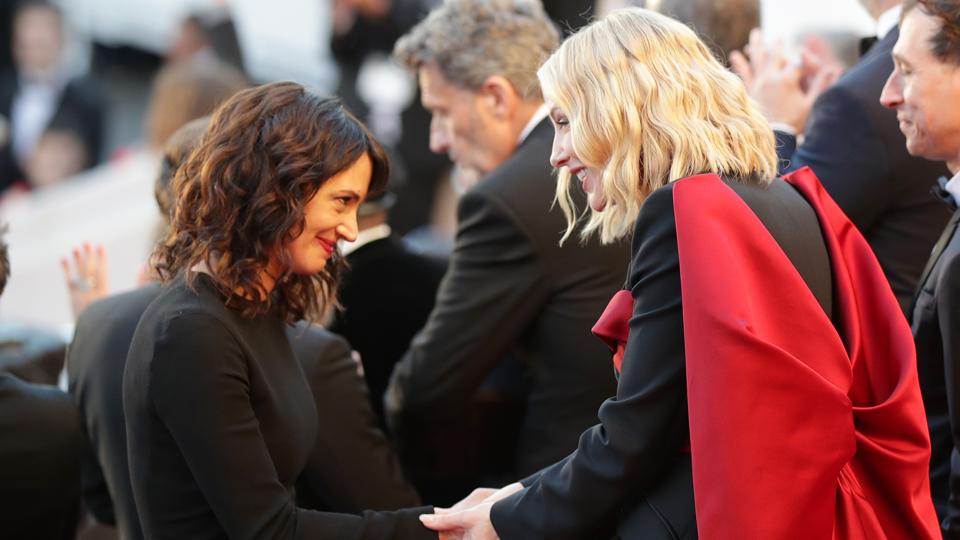Asia Argento Cate Blanchett
