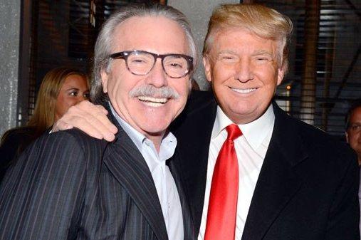 Donald Trump and David Pecker