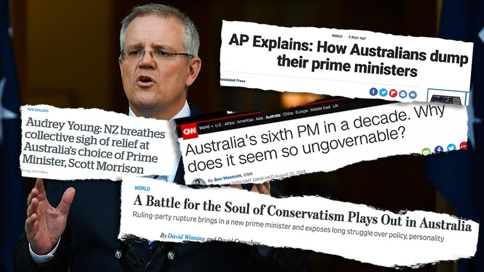 Scott Morrison Prime Minister Leadership Spill