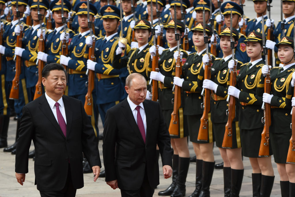 Russi and China hold huge war games