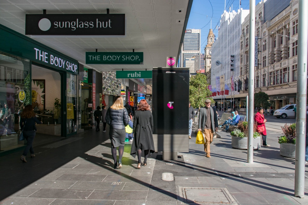 telstra pay phones melbourne