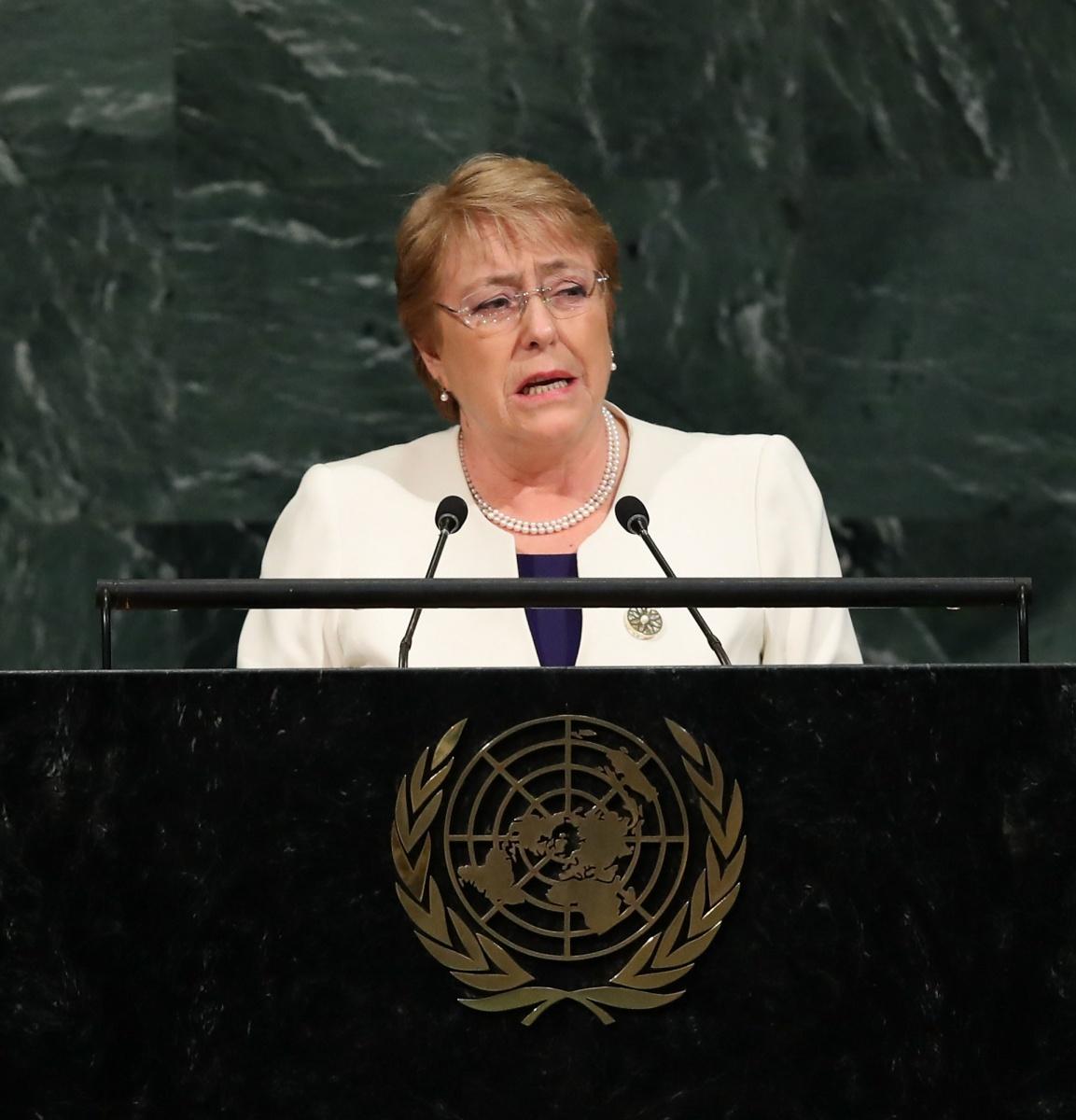 Myanmar reporters jailed Michelle Bachelet
