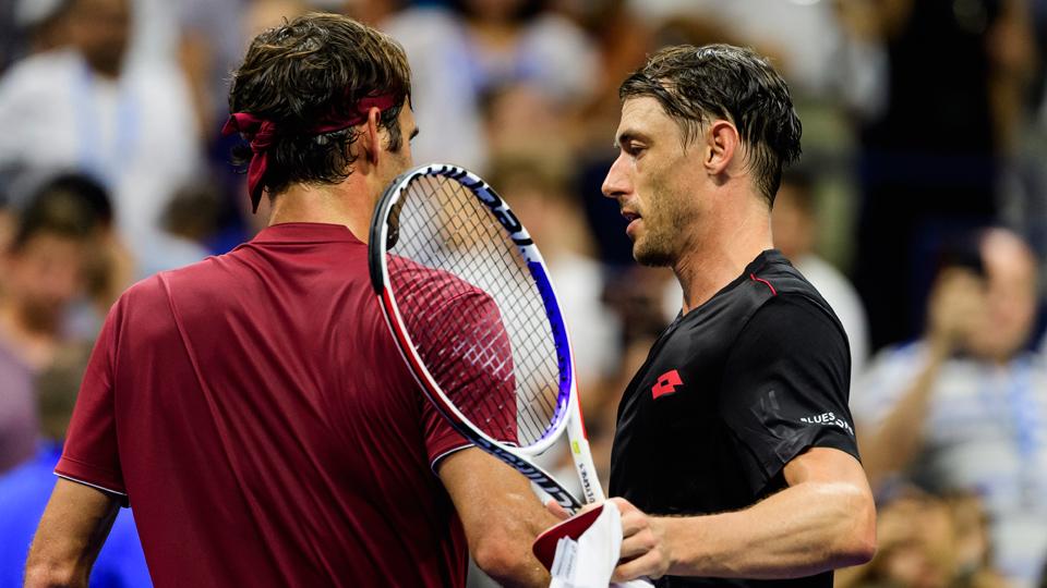 John Millman Roger Federer
