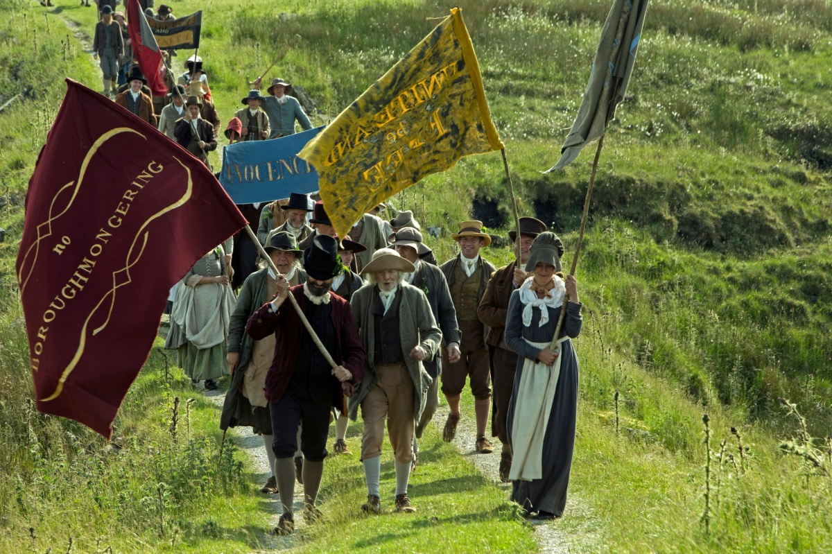 """A scene from Mike Leigh's """"Peterloo,"""" set in 1819. <i>Photo: Amazon Studios</i>"""