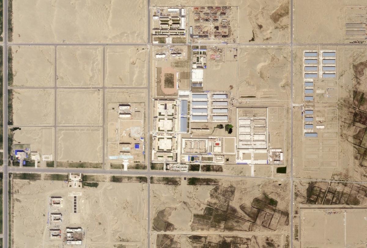hotan internment camp