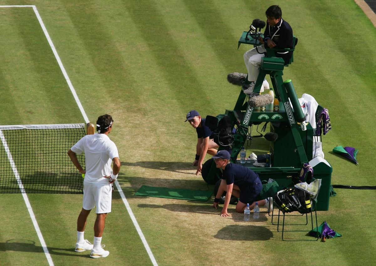 Roger Federer Carlos Ramos