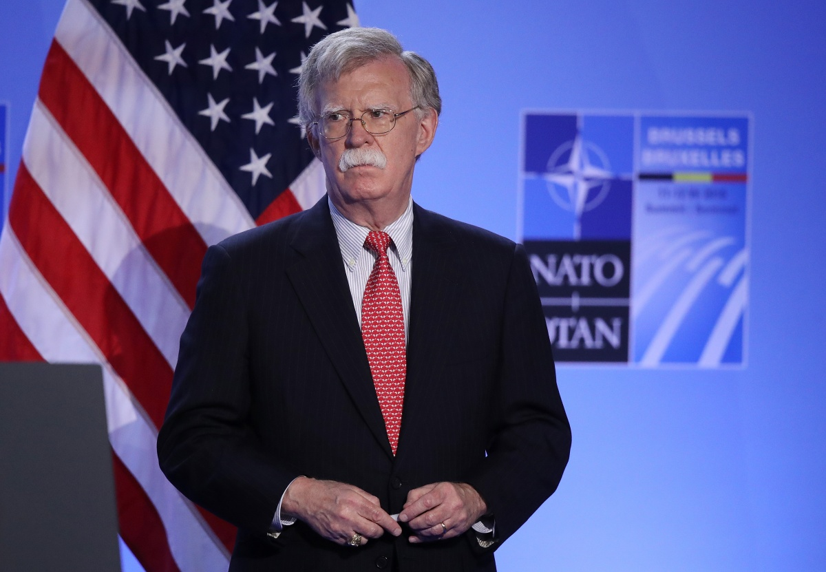 John Bolton ICC US Donald Trump
