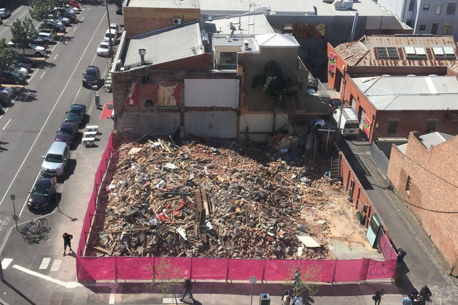 corkman irish pub carlton asbestos