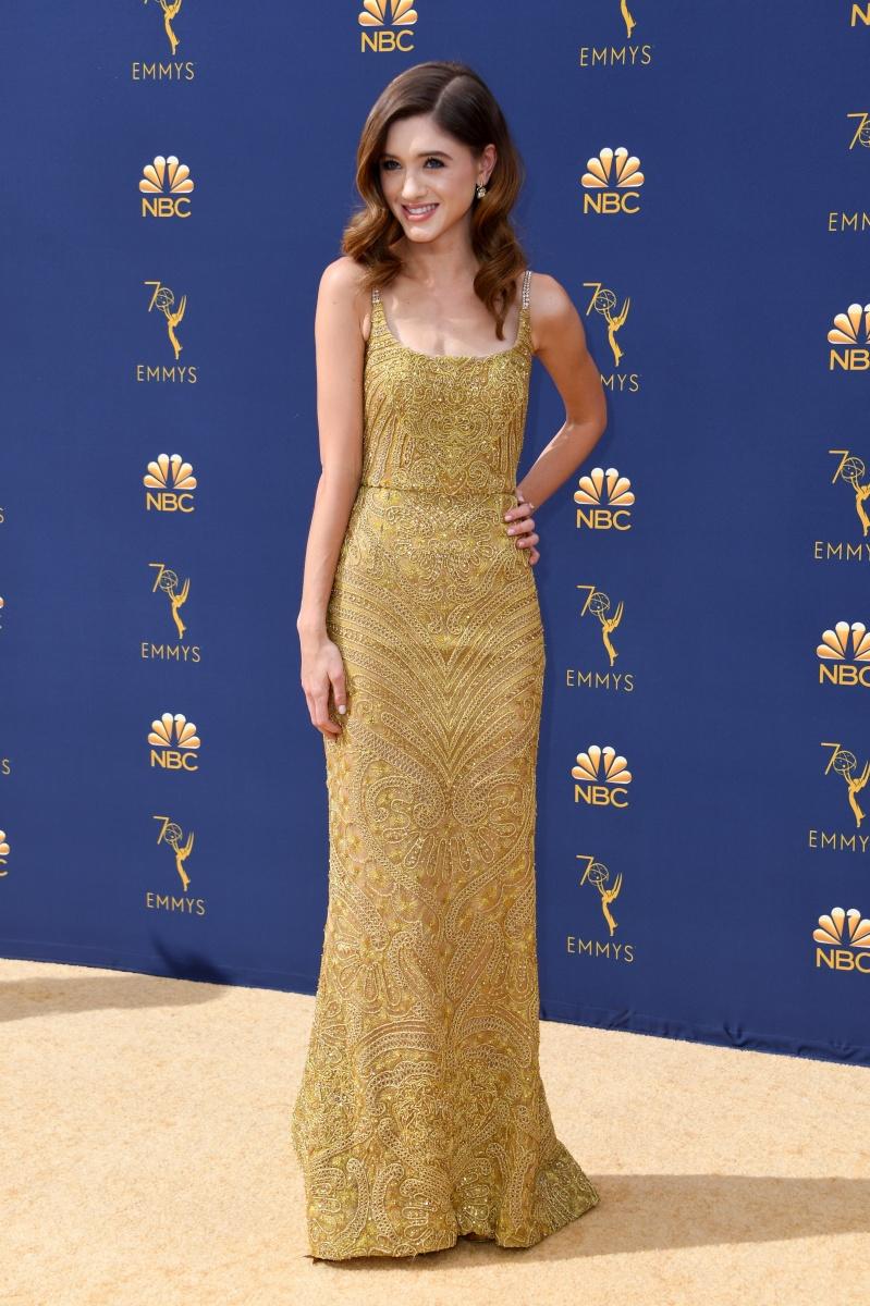 Natalie Dyer Emmys 2018