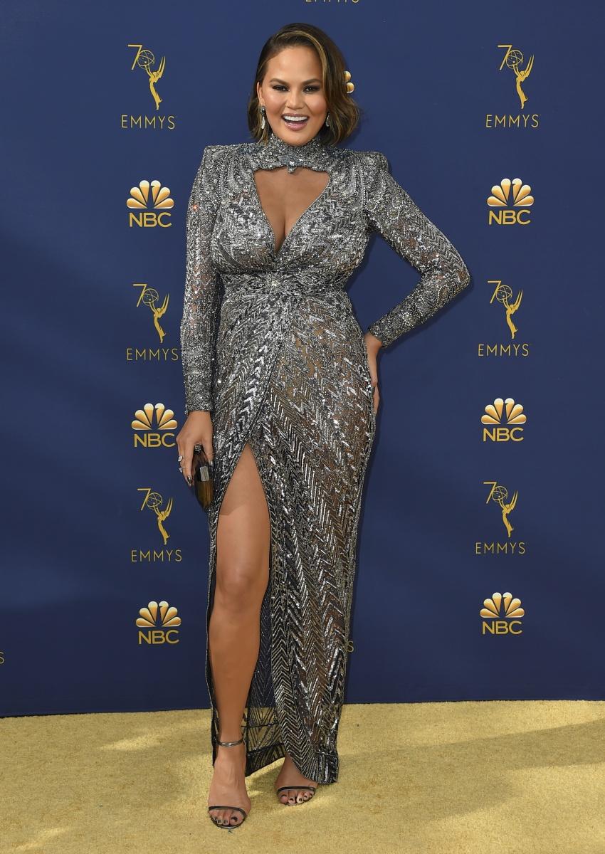 Chrissy Teigen Emmys 2018