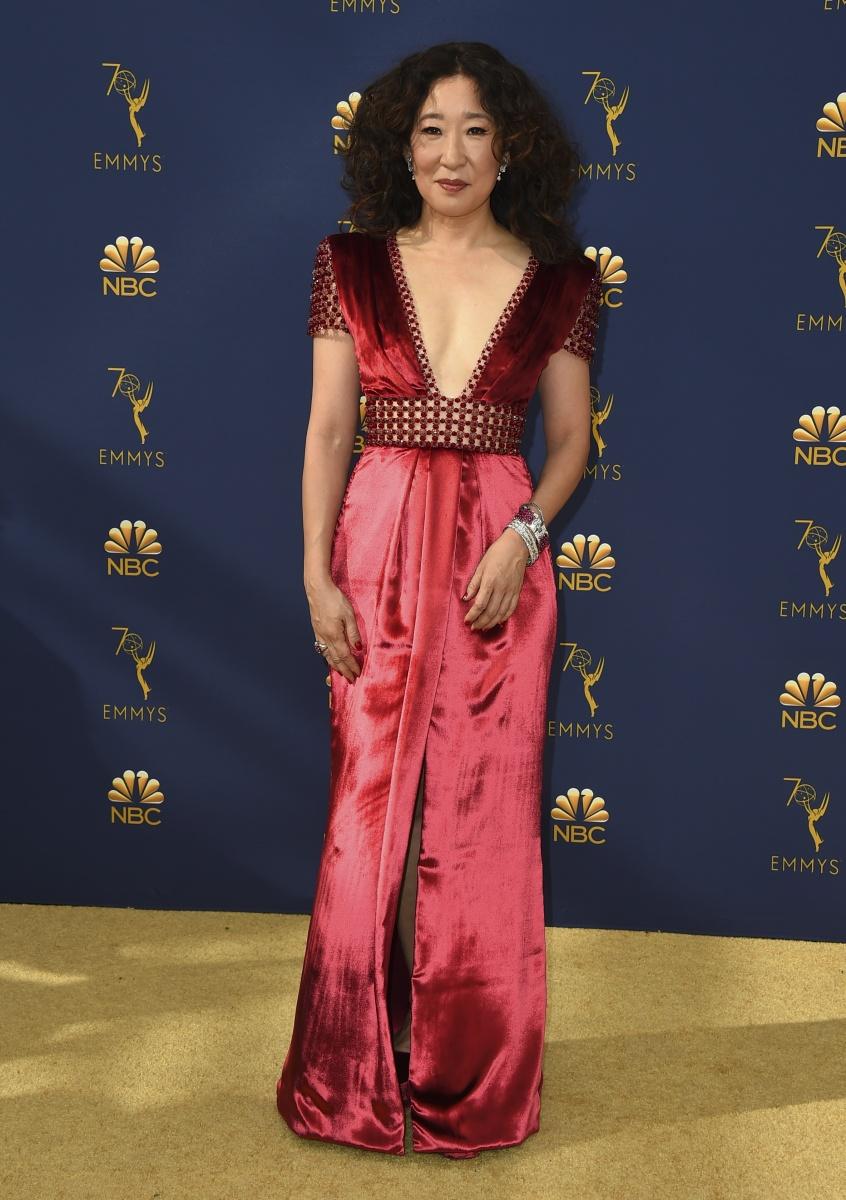 Sandra Oh Emmys 2018