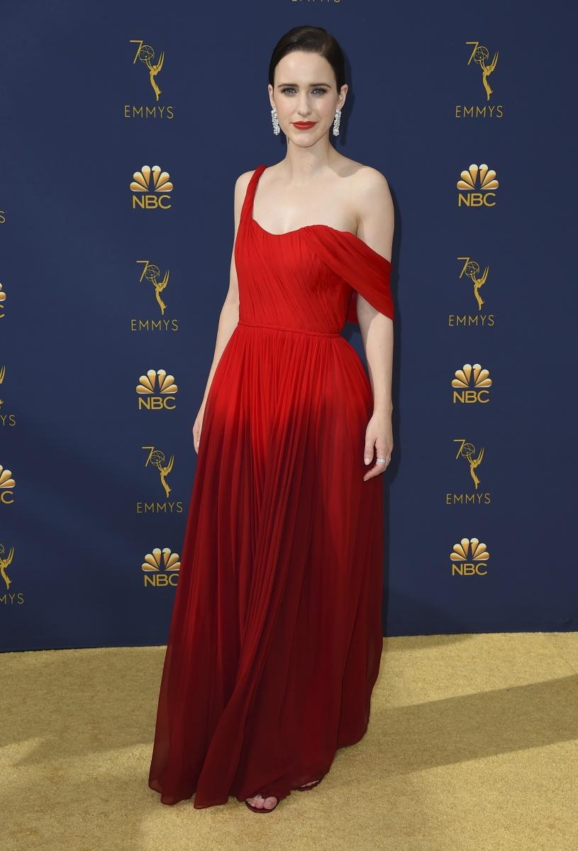 Rachel Brosnahan Emmys 2018