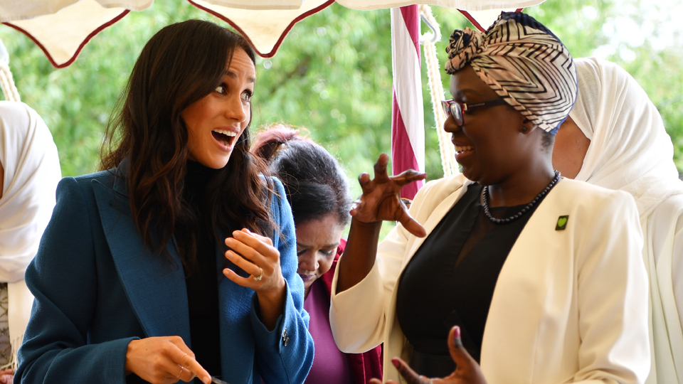Meghan Markle cookbook launch