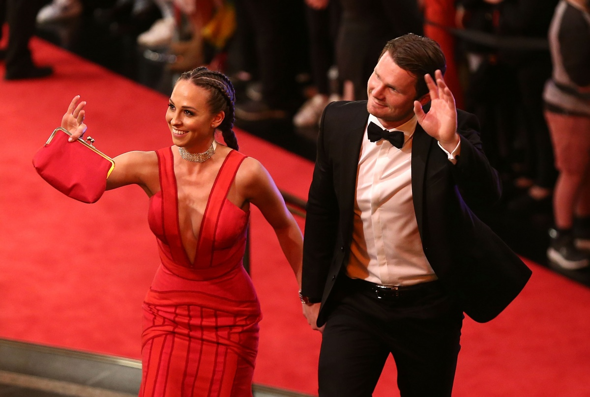 Brownlow Medal red carpet
