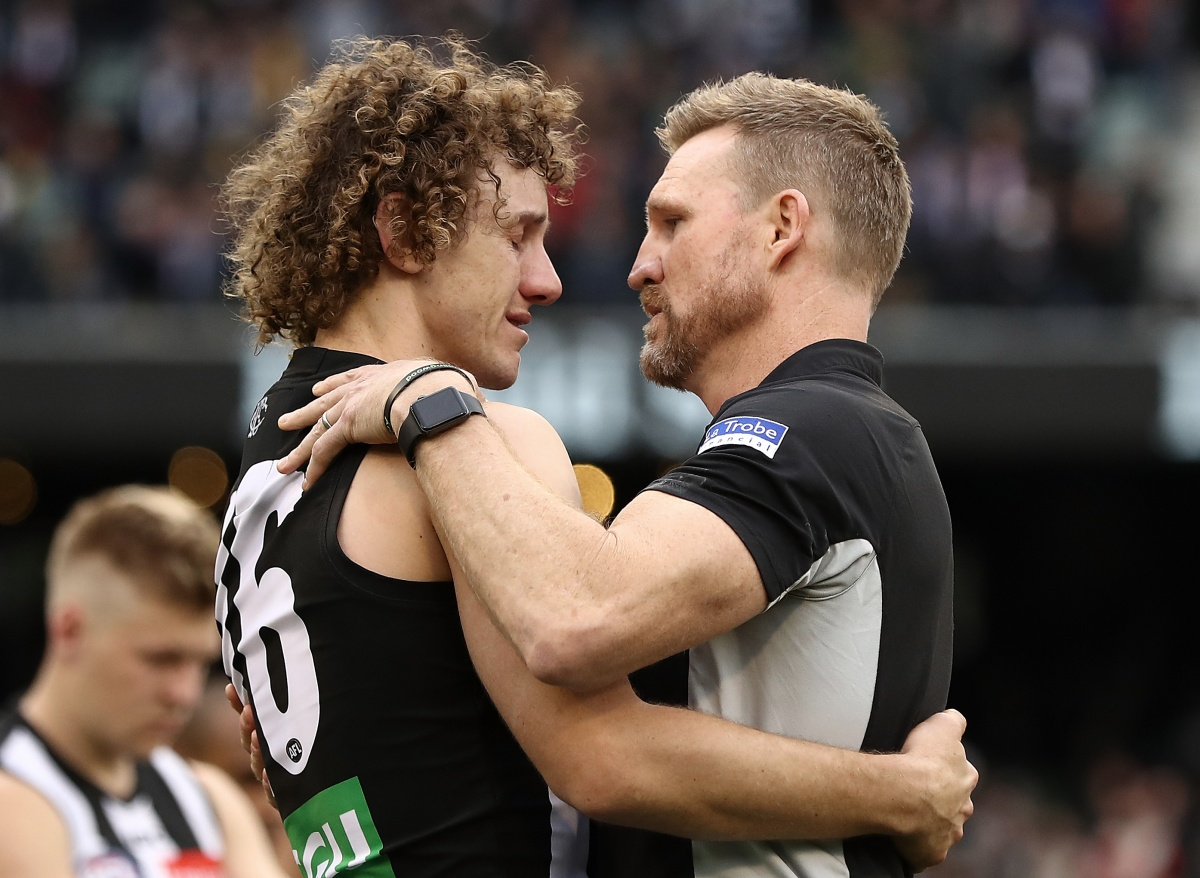 Collingwood Coach Nathan Buckley Forthright After Defeat