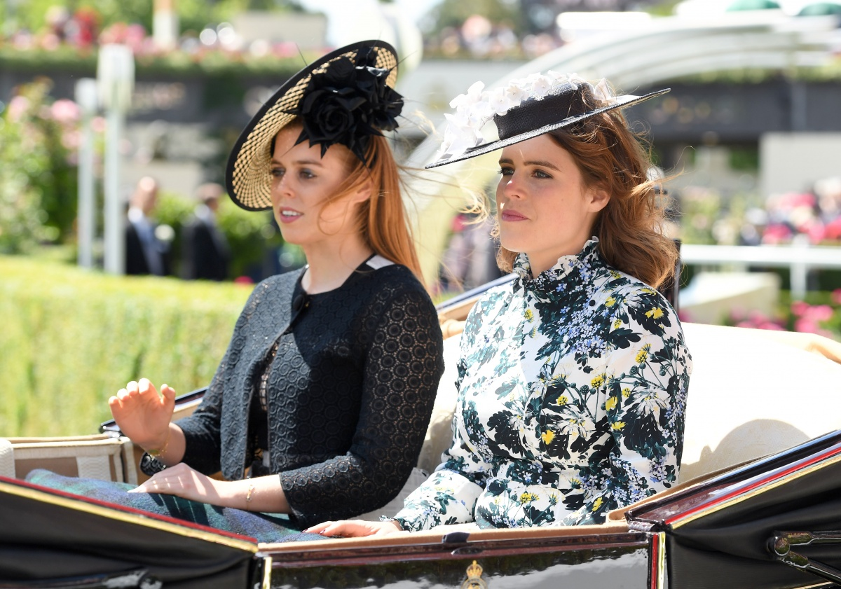 Princes Beatrice Princess Eugenie