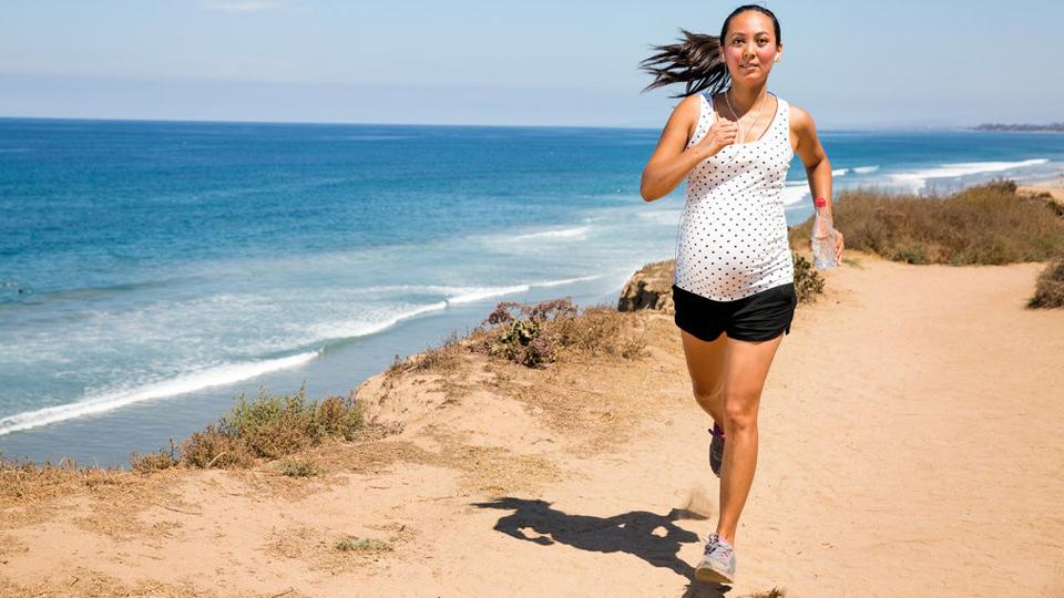 pregnant run