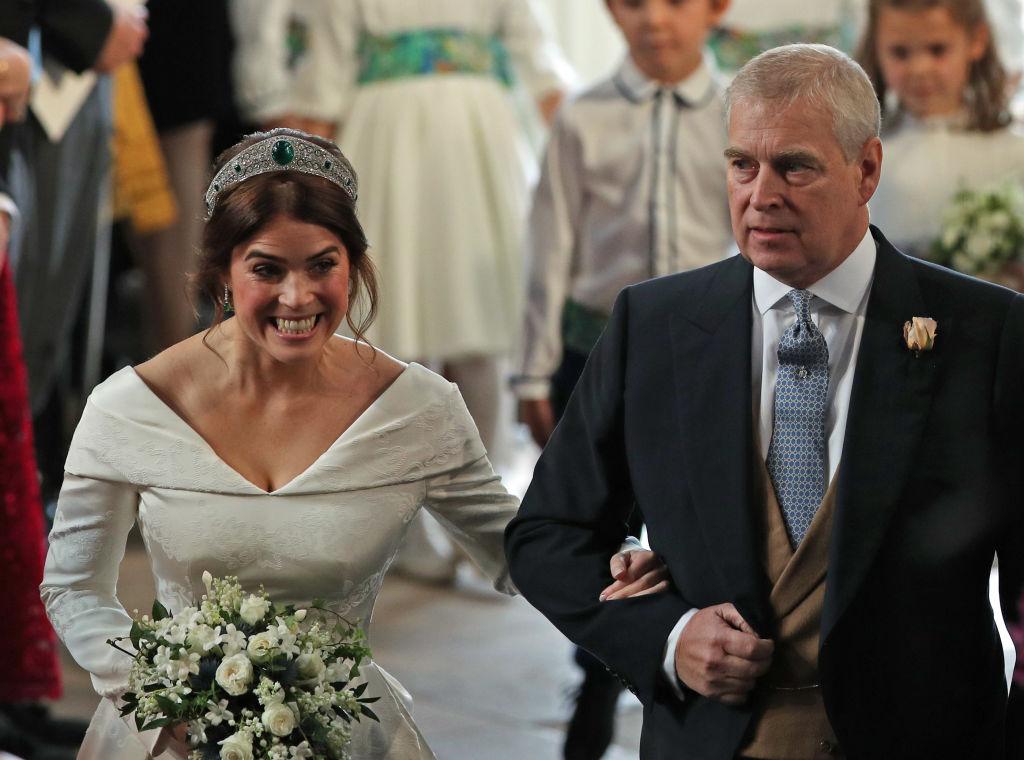 Eugenie Wedding Dress.Why Eugenie S Choice Of Wedding Dress Was So Bold
