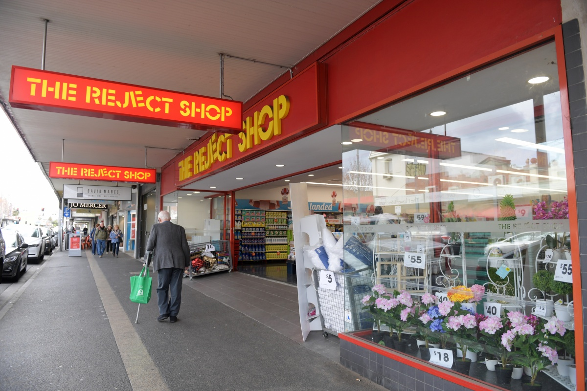 Retailer The Reject Shop reduced its expected profit.