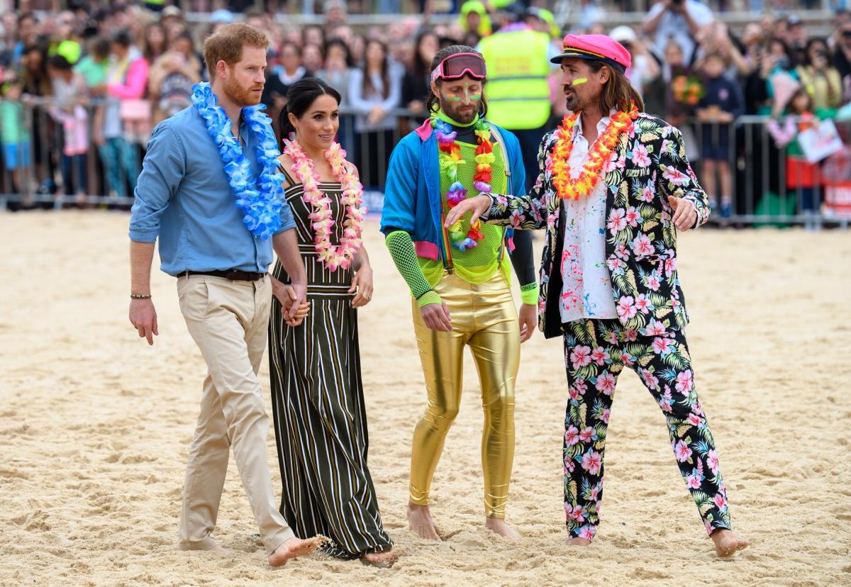 meghan markle wearing australian designers