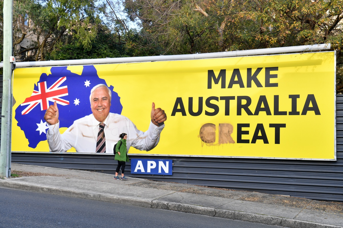 clive palmer poster