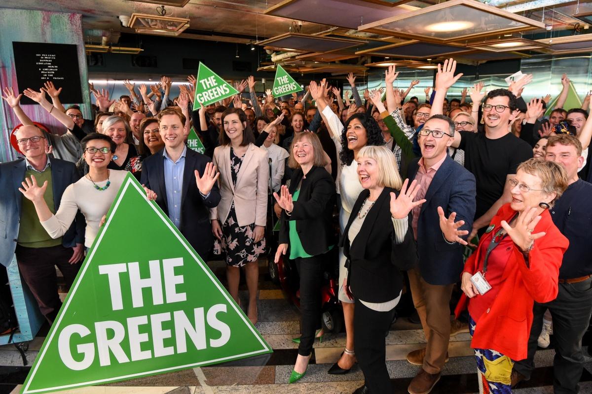 greens victoria election