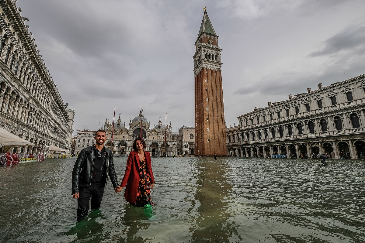 Venice Floods Five Die In Italian Storms The New Daily