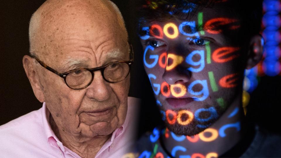 Rupert Murdoch Google