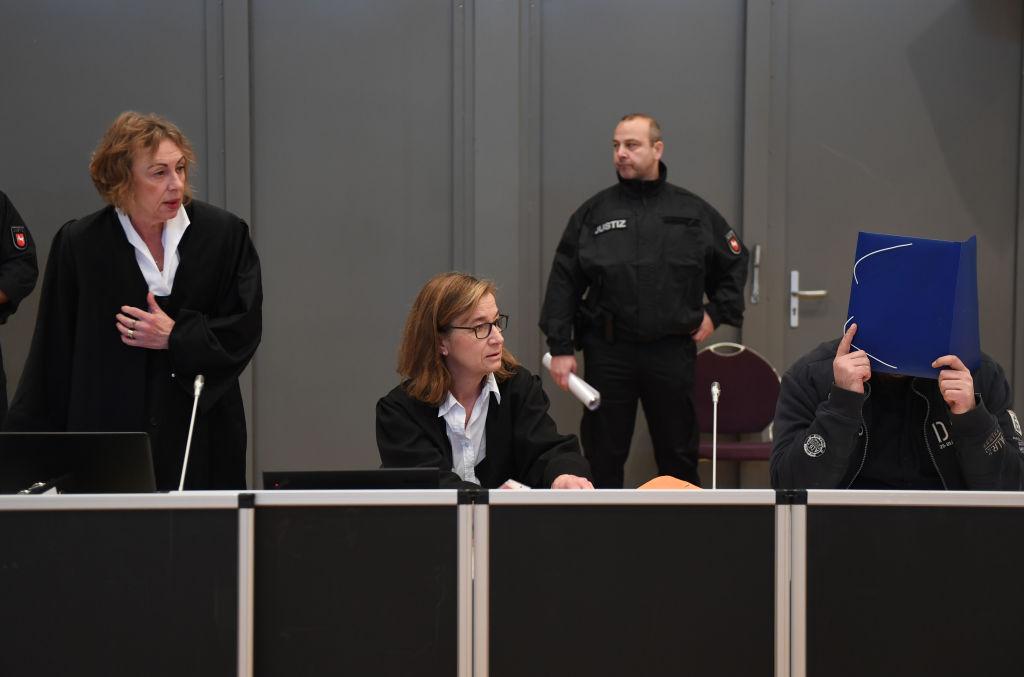 German nurse goes in trial for killing 10 patients