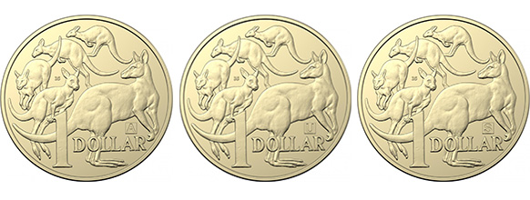 The Royal Australian Mint has released three million special $1 coins.