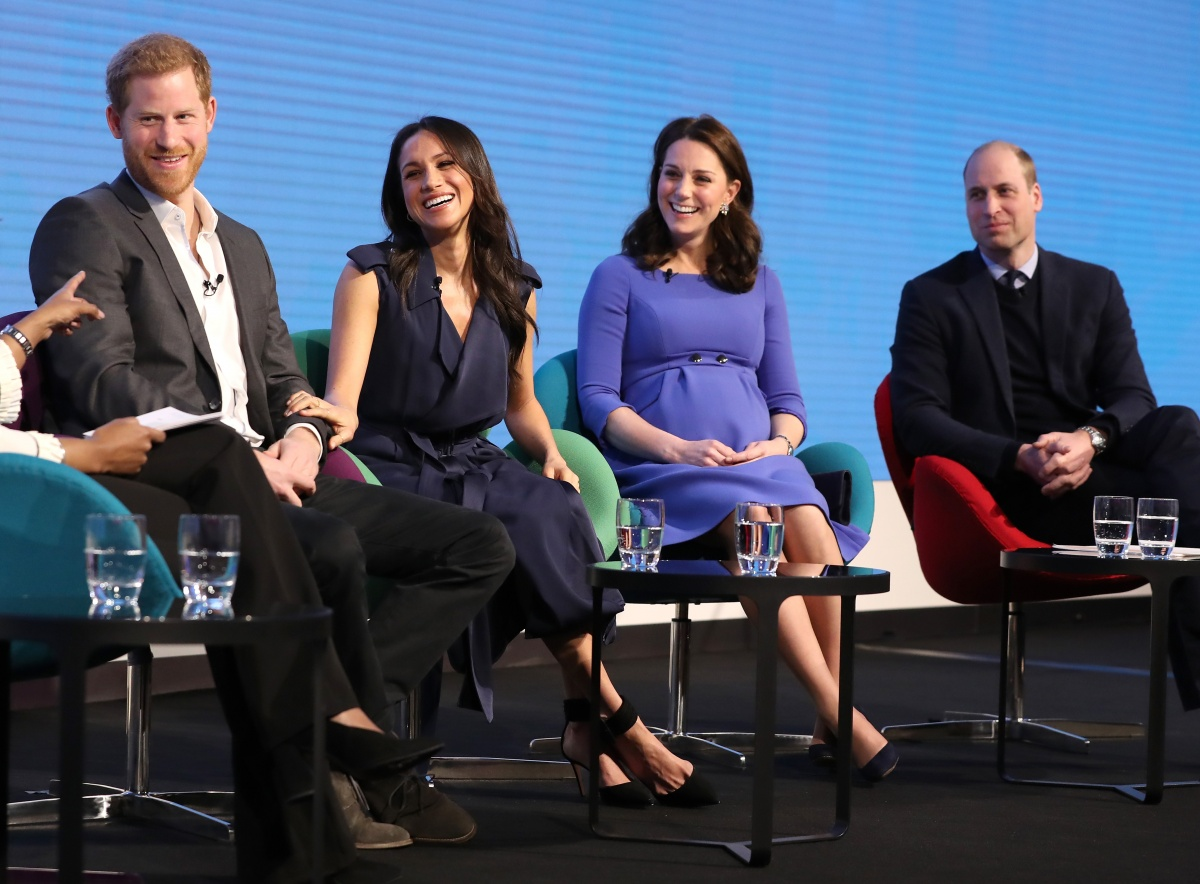 Harry, Meghan, Kate, William