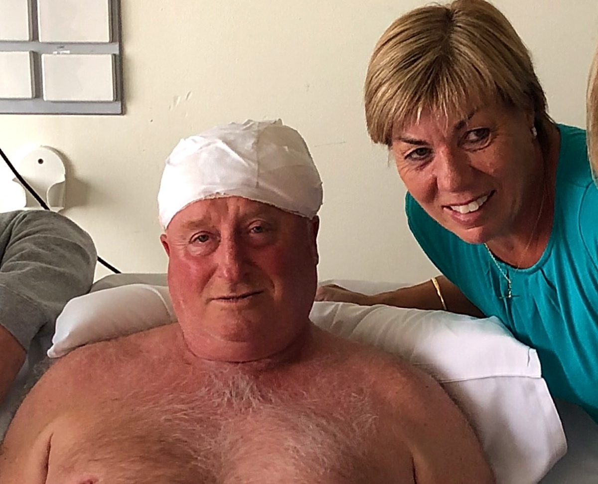 Rod Patterson was injured while trying to help others caught up in the terrorist attack on Bourke Street.