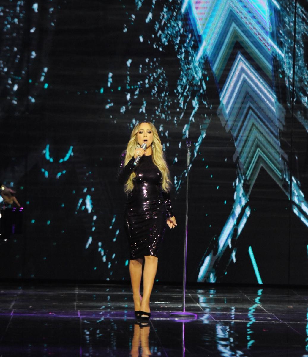 Mariah Carey at the Alibaba Single's Day sale