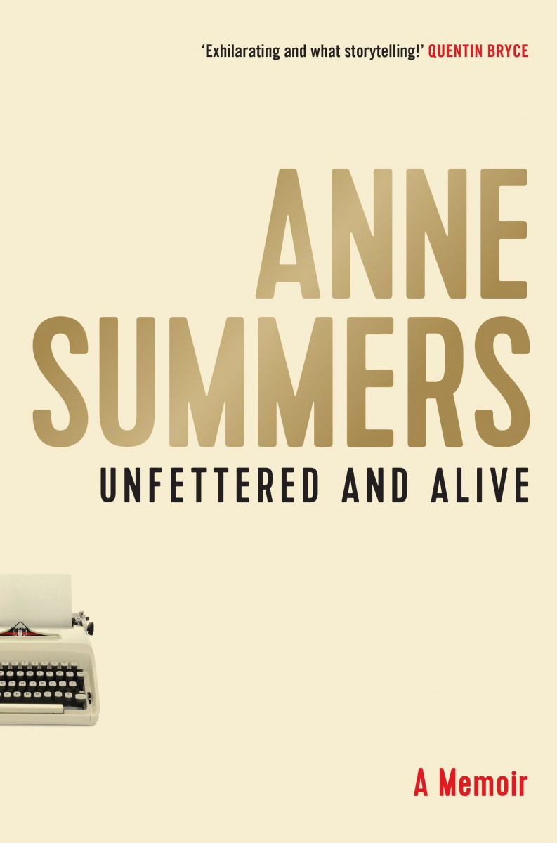Anne Summers book cover