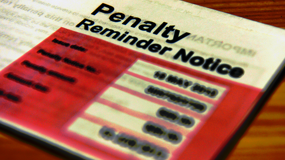 penalty reminder