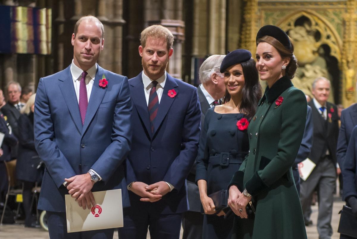 William, Harry, Meghan, Kate