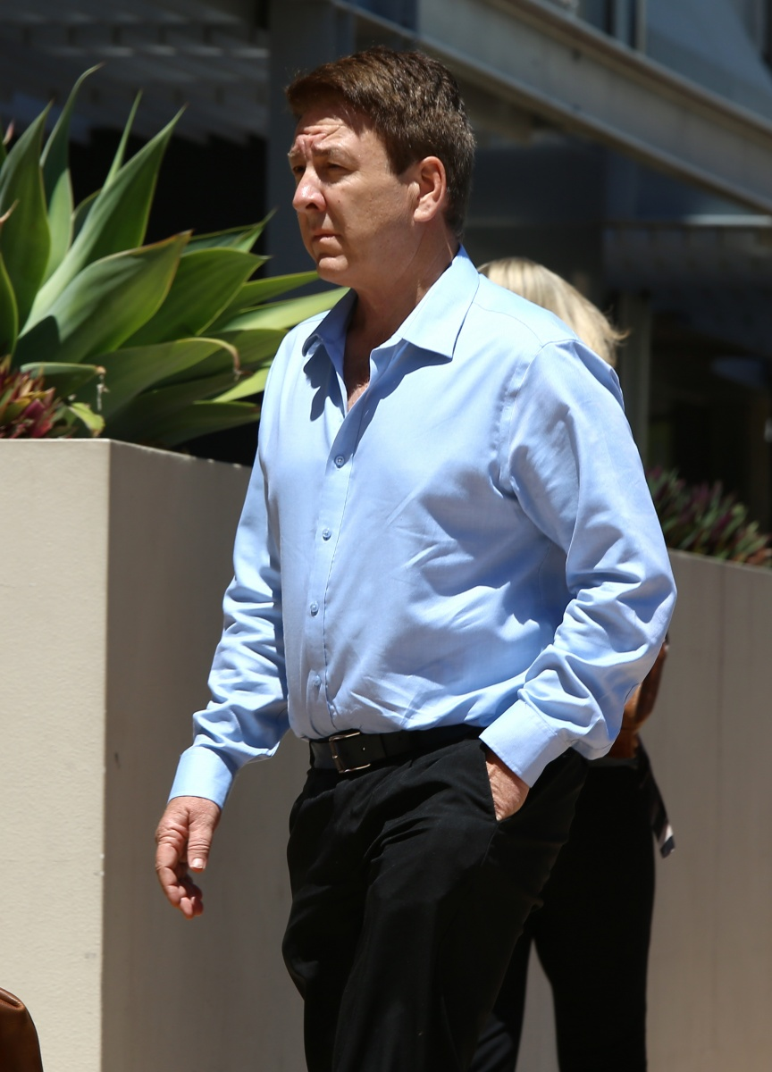Dreamworld engineer Chris Deaves arrives at the inquest on Tuesday.