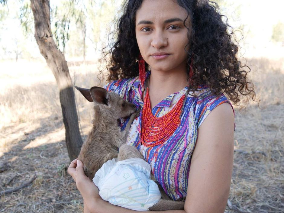 Woorabinda youth worker Nickeema Williams