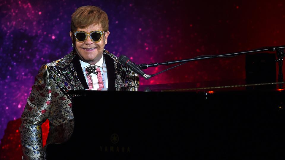 Elton John January 2018