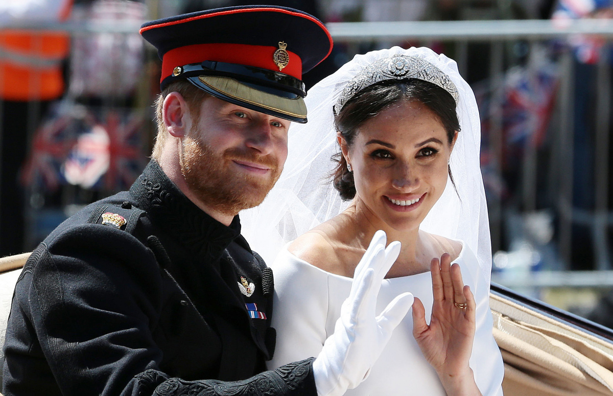 Meghan Harry wedding