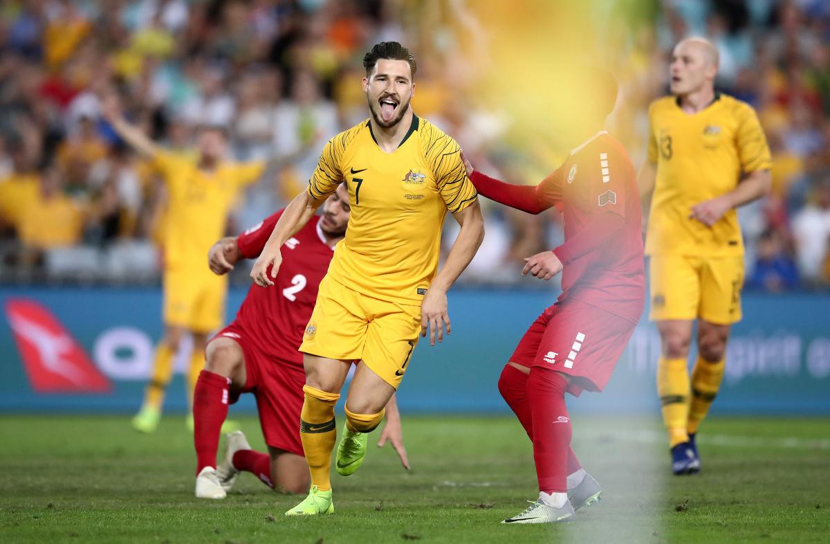 Matthew Leckie Socceroos