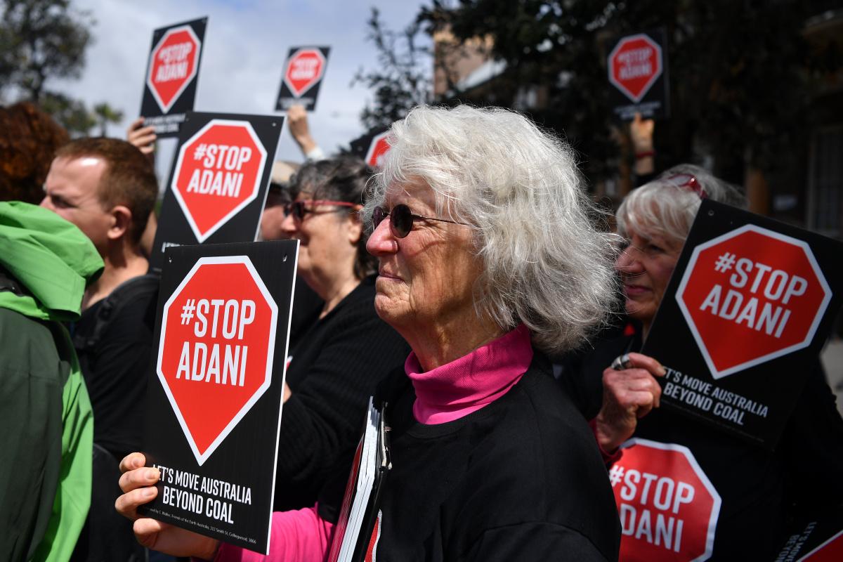 adani protesters