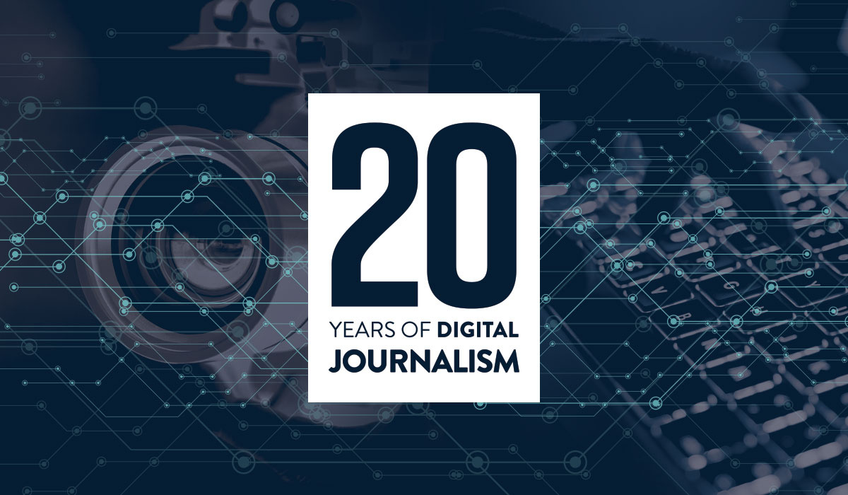 20 years digital news