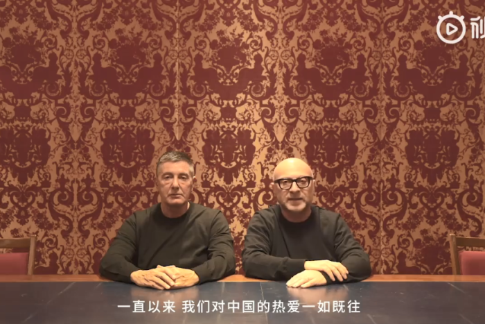 dolce & gabbana apologise to china over racist video ad