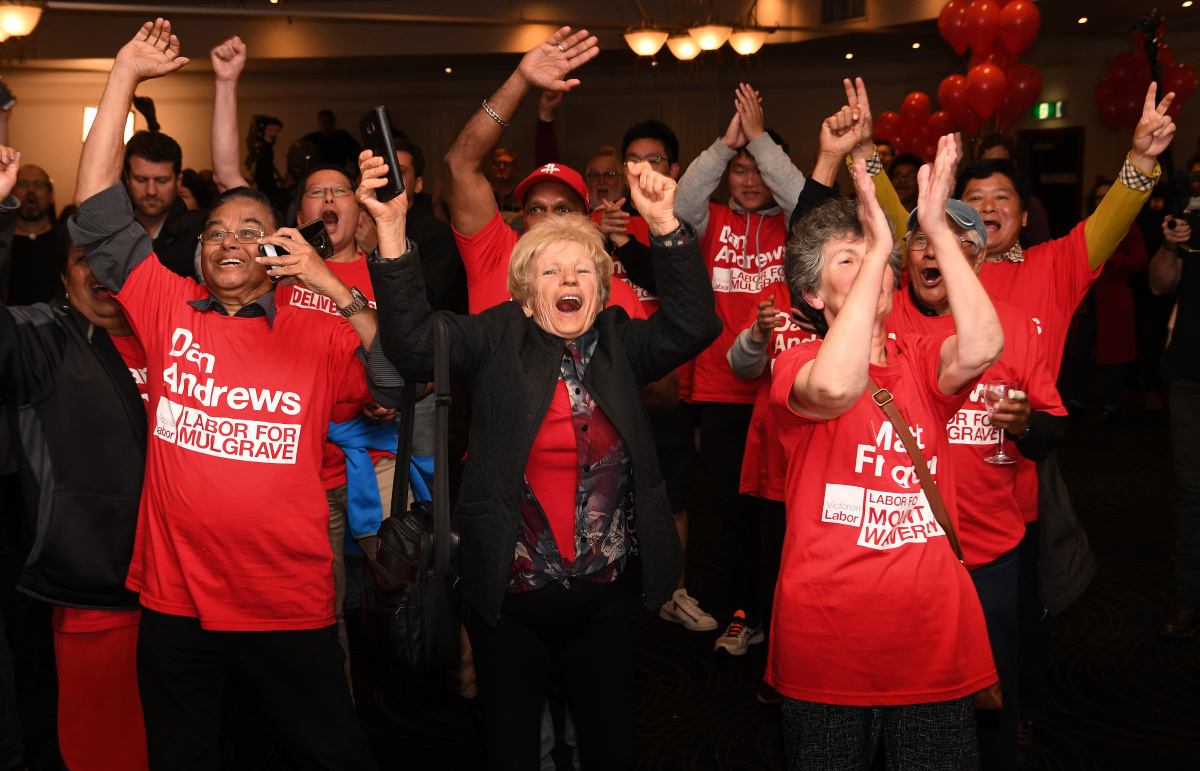 victorian election labor party