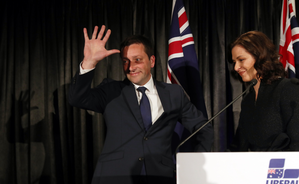 matthew guy concedes defeat in Victorian election